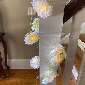Pier One Flower String Light Garland